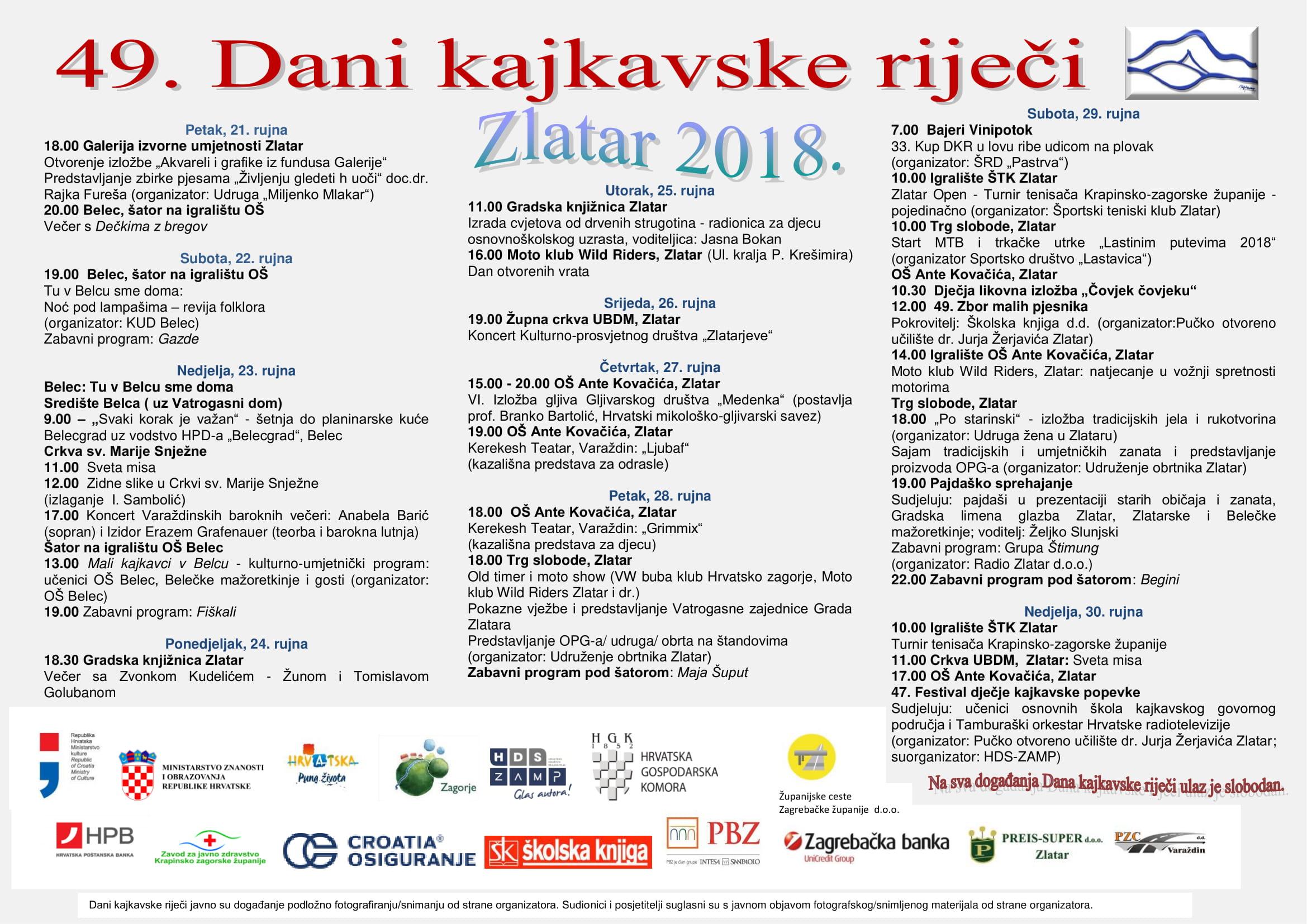 Program Dani kajkavske rije¦Źi 2018wl-1